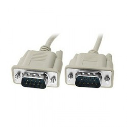 2M DB9 RS232 Serial Male To Male Cable
