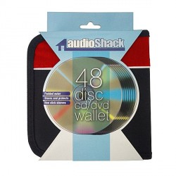 Audioshack CD/DVD Wallet (Red)