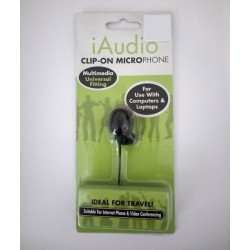 iAudio Clip On Microphone