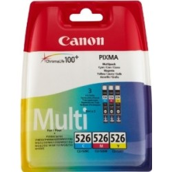 Canon CLI-526 Colour Ink Cartridges Multipack