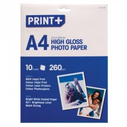 A4 High Gloss Photo Paper (10 Sheets)