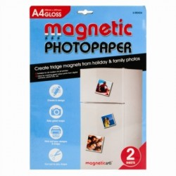 A4 Magnetic Gloss Photo Paper (2 Sheets)