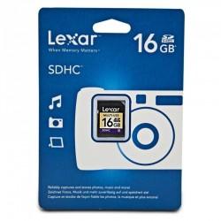 Lexar 16GB SDHC Class 6 Memory Card
