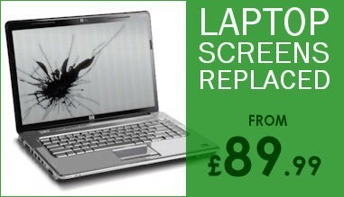 Laptop Screens Replaced