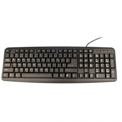 USB Wired Keyboard (EU Layout)
